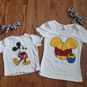 Mommy & Me Disney Outfits & matching Headbands